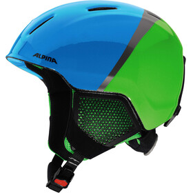 Alpina Carat LX Helmet Kids green-blue-grey